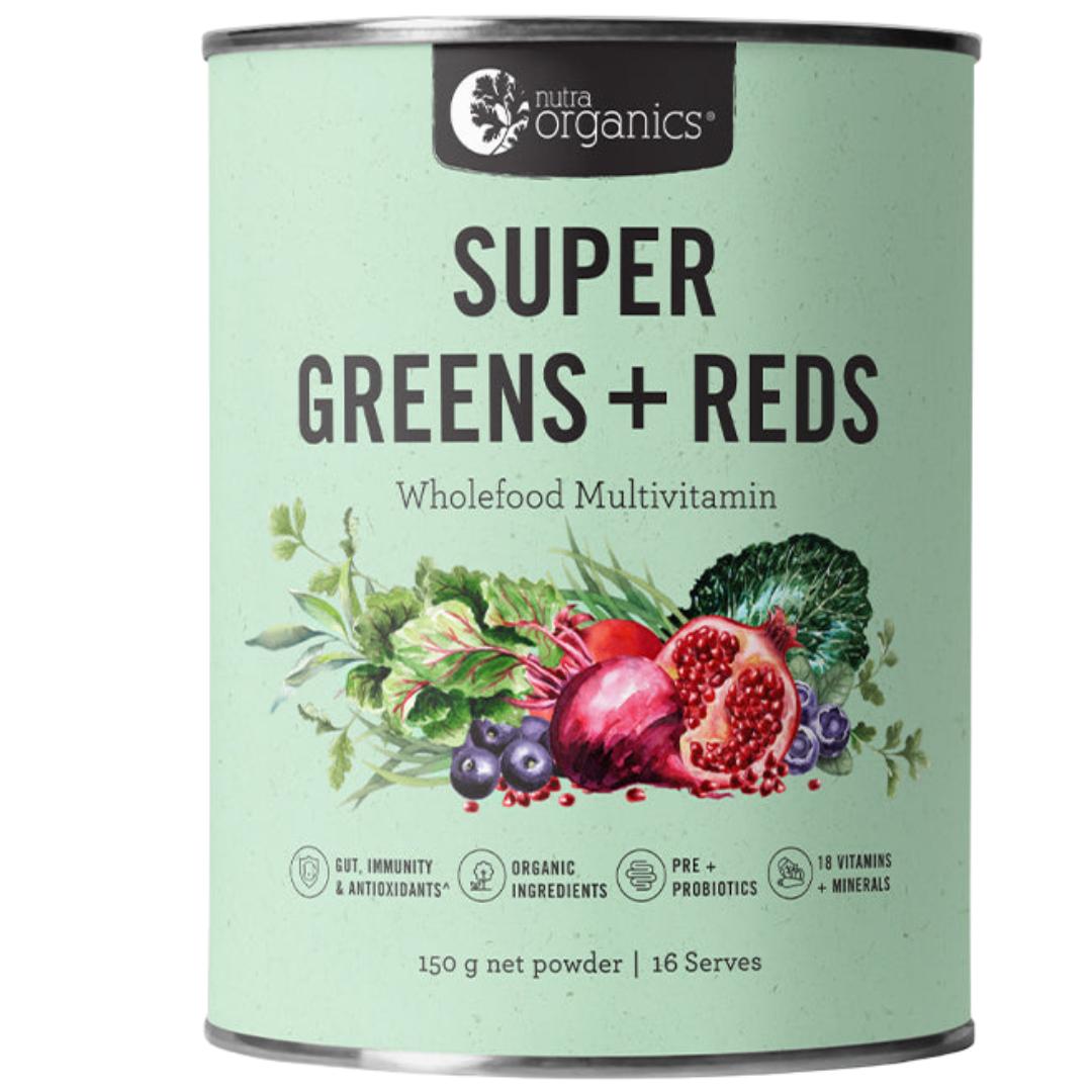 Organic super reds