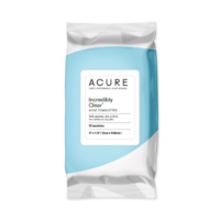 ACURE Clarifying Acne Towelettes With Glycolic Acid and Zinc