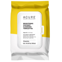 ACURE Coconut and Argan Cleansing Towelettes