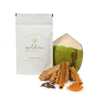 Golden Grind Coconut and Cacao Pack