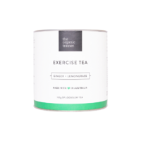 The Organic Trainer Ginger & Lemongrass Exercise Tea