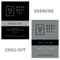 Mama Body Tea Energise & Chill Out Duo Tea Pack
