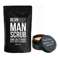 Bean Body Coffee Man Scrub & Black Chicken Remedies Axilla Natural Deodorant Paste