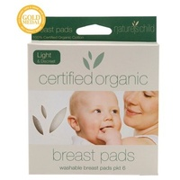 Nature's Child Certified Organic Cotton Washable Breast Pads