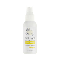 First Light Organics Baby Oil