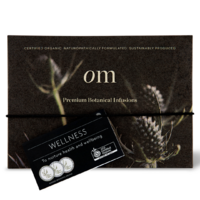 Organic Merchant Wellness Tea Gift Box With Tea Infuser