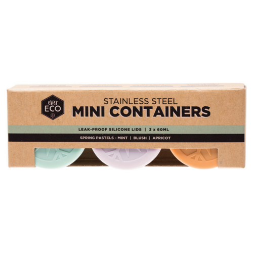 Ever Eco Mini Stainless Steel Containers