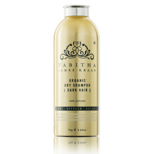 Tabitha James Kraan Organic Dry Shampoo For Dark Hair_75 G